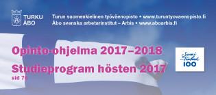 Työväenopiston opinto-ohjelma