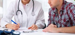 Lääkäri ja potilas