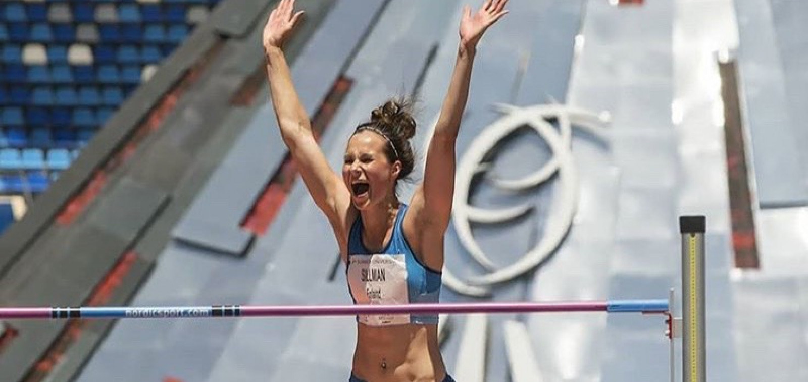 Yleisurheilija Miia Sillman